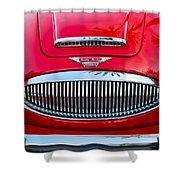 Austin-healey 3000mk II Shower Curtain