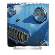 Austin Healy Sprite Shower Curtain