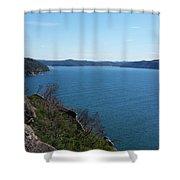 Australia - Broken Bay Shower Curtain