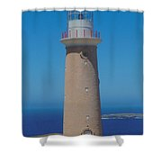 Australia Cape Du  Coedic Light Shower Curtain