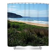 Australia - Runaway To Palm Beach Shower Curtain