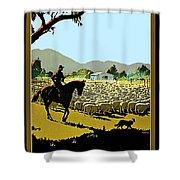 Australia, Shepherd Shower Curtain
