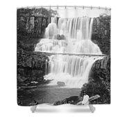 Australia: Waterfall Shower Curtain