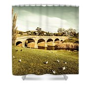 Australian Bridges Shower Curtain