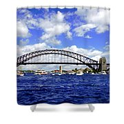 Australian Day Is A Party Day On Sydney Harbour  Shower Curtain