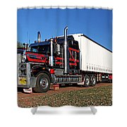 Australian Roadtrain Shower Curtain