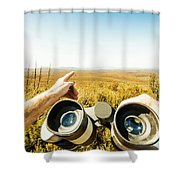 Australian Safari Shower Curtain