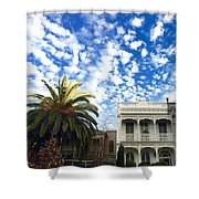 Australian Sky Shower Curtain