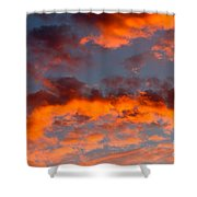 Australian Sunset Shower Curtain
