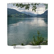 Austrian Lake Shower Curtain