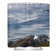 Austrian Sky Shower Curtain