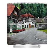 Austrian Village Shower Curtain