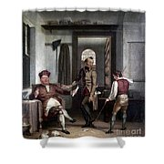 Author & Bookseller, 1811 Shower Curtain