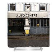 Auto Centre Shower Curtain