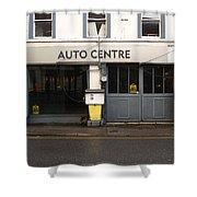Auto Centre Shower Curtain