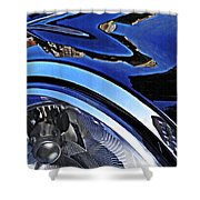 Auto Headlight 27 Shower Curtain