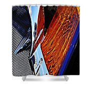 Auto Headlight 31 Shower Curtain
