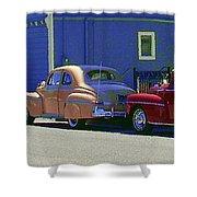 Auto Oldies Shower Curtain