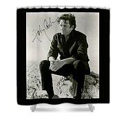Autographed Cash Shower Curtain