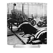 Automobile Manufacturing Shower Curtain