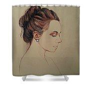 Autoportrait Maja Sokolowska Shower Curtain