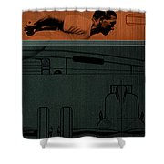 Autounion 1 Shower Curtain