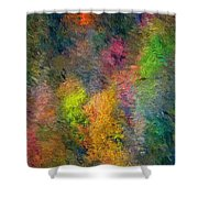 Autum Hillside Shower Curtain