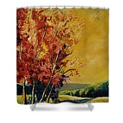 Autumn 68 Shower Curtain