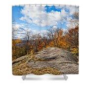 Autumn Above Eagle Bay Ny Shower Curtain