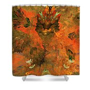 Autumn Abstract 103101 Shower Curtain