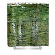 Autumn Abstract - 2 Shower Curtain