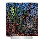 Autumn Abstraction Shower Curtain