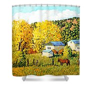 Autumn Afternoon Shower Curtain