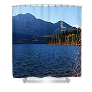 Autumn Afternoon On Pyramid Lake Shower Curtain