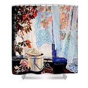 Autumn Aromas Shower Curtain