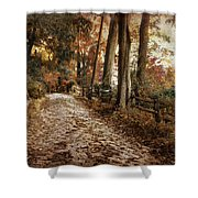 Autumn Ascending  Shower Curtain