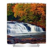 Autumn At Buttermilk Falls Shower Curtain