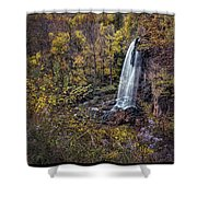 Autumn At Falling Spring Shower Curtain