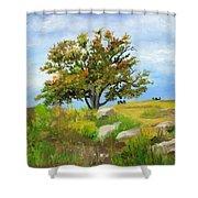 Autumn At Gettysburg Shower Curtain