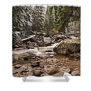 Autumn At Gore Creek - Vail Colorado Shower Curtain by Brian Harig