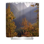 Autumn At Logan Pass Shower Curtain