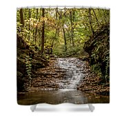 Autumn At Mill Creek Shower Curtain