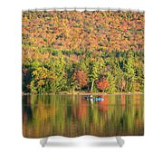 Autumn At North Lake Shower Curtain