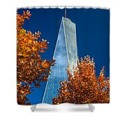 Autumn At One Wtc Shower Curtain