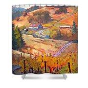 Autumn At Silvan Ridge Shower Curtain