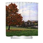 Autumn At Stirling Bridge Shower Curtain