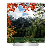Autumn At String Lake Shower Curtain