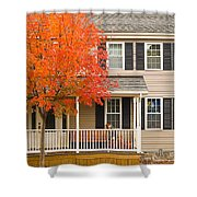 Autumn At The Inn Shower Curtain