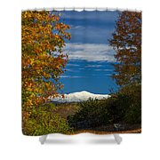 Autumn At The Rocks Estate Shower Curtain