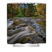 Autumn At Wolf Creek Shower Curtain